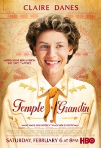 Claire Danes in the HBO movie Temple Grandin